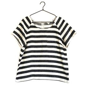 Merona Linen Stripe Top